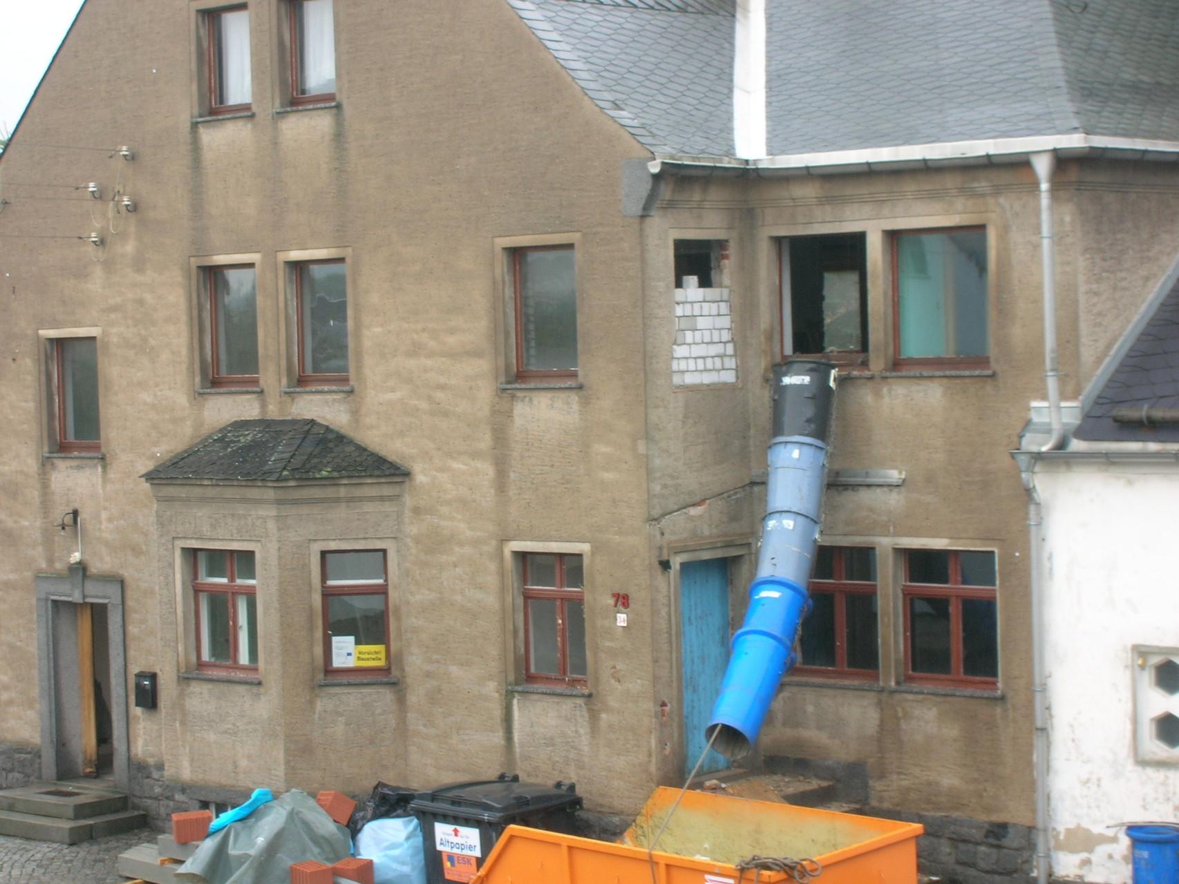 Gebäudezustand vor der Sanierung