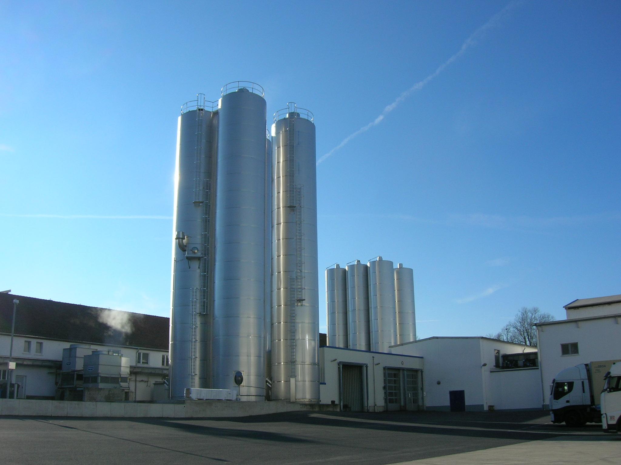 Heinrichsthaler Milchwerke GmbH, Milchtankanlage, 2013