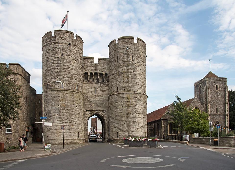 Sehenswürdigkeiten und Reisetipps Canterbury, England: Das West Gate