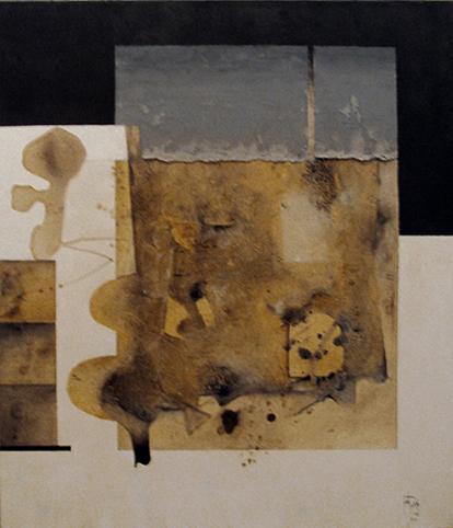 "MANUEL FELGUÉREZ, ""Nueva York 2002"", óleo/tela, 120x97cm, 2002."