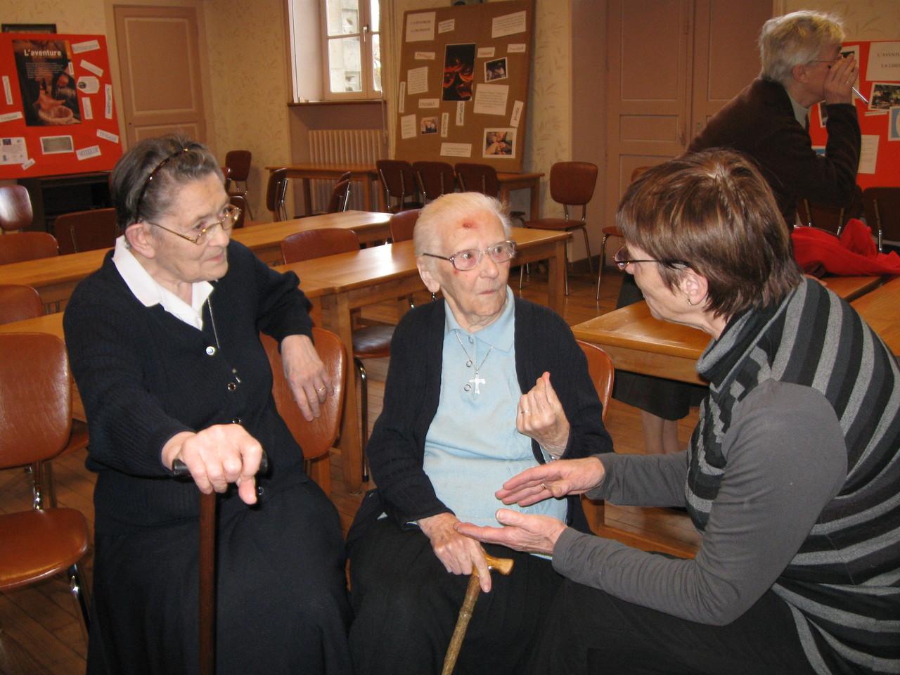 Créhen Maison Mère - Témoignage d'une vie de religieuse