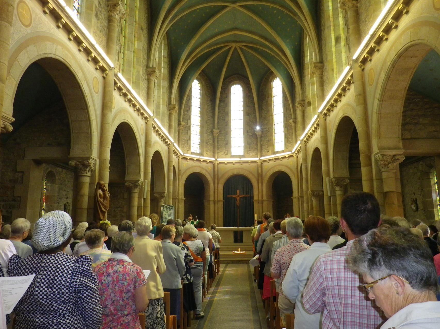 Eucharistie à la grande chapelle