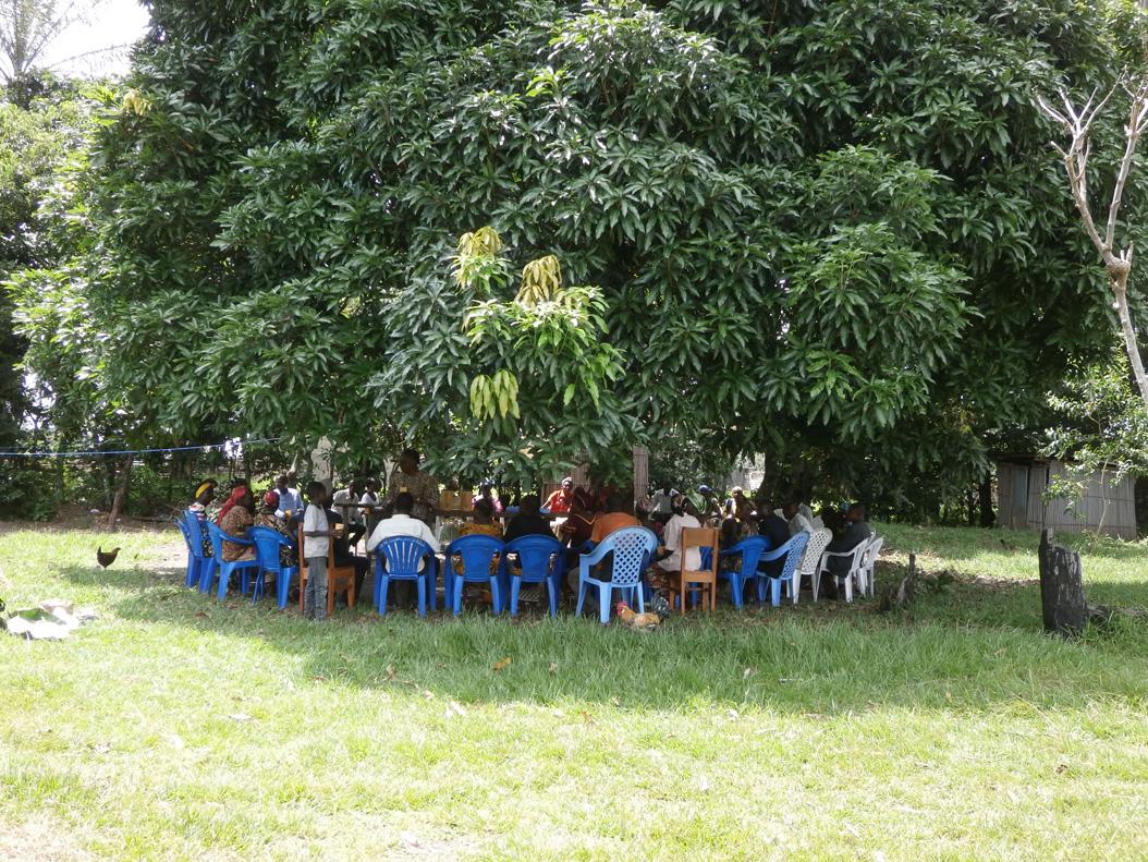 Groupe d'amis priants de Mawanga