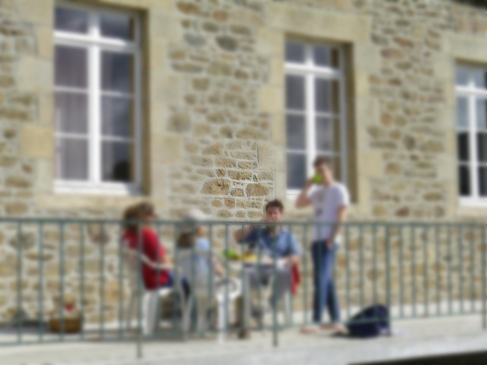 """Lycée """"La Providence"""" de St Malo en révision Bac à Créhen"""