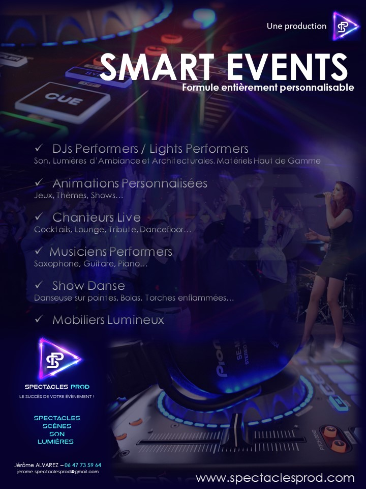 SMART EVENTS BY SPECTACLES PROD