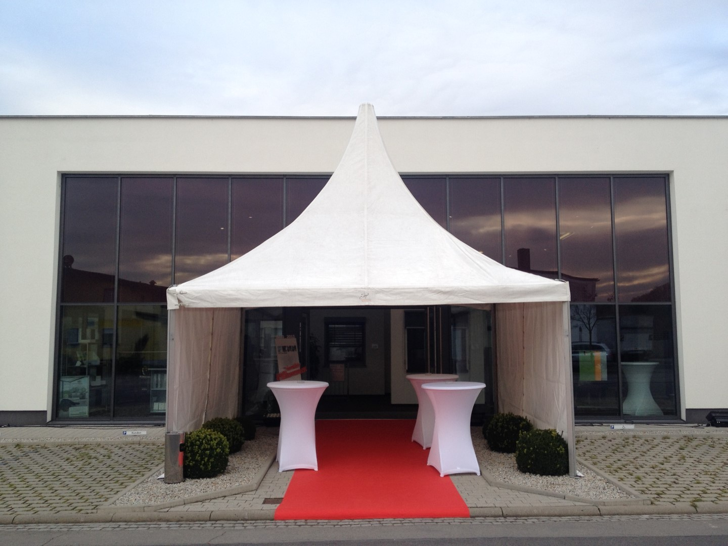 Unser STAR Shade Zelt TOP Eventservice Ihr kompetenter