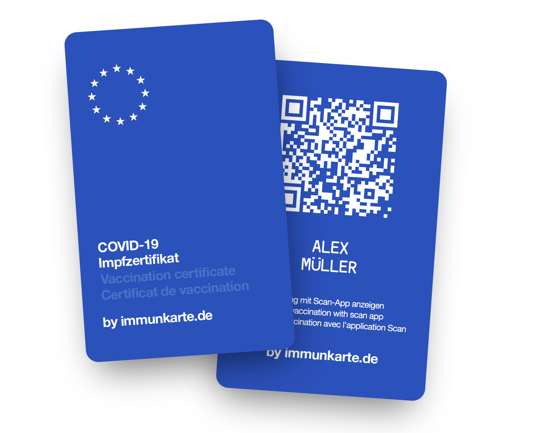 Neue Immunkarte in der Cronen Apotheke Coesfeld verfügbar