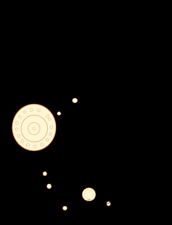 Derrière la même monnaie schématisant le cheval, se trouve ces cercles....qui correspondent à l'emplacement des pattes et d'un centre.