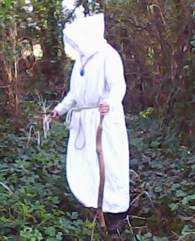 Le druide gaulois (un ami que j'ai rencontré il y a longtemps).