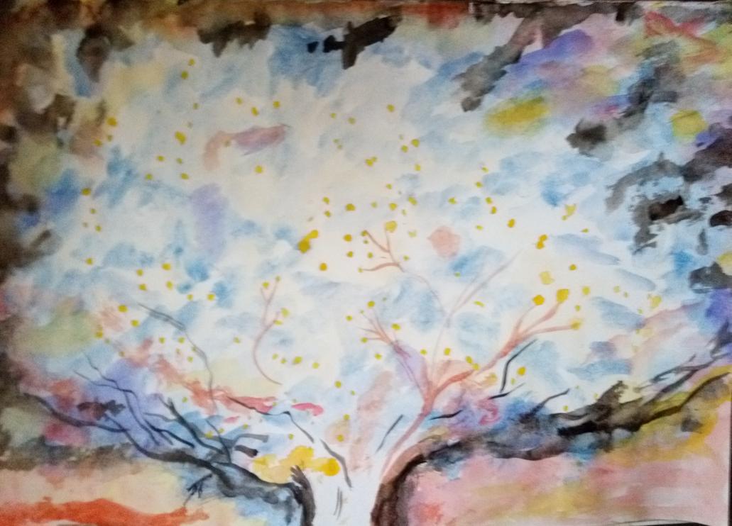 Le fameux chêne druidique Deruos (druide) seul arbre maître qui puisse imiter les cheminements entre les étoiles.