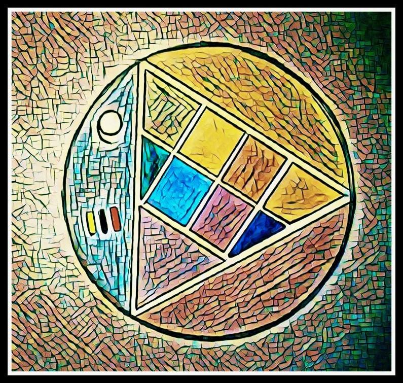 La palette philosophale. Monnaie gauloise..