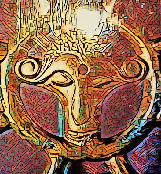 Belenos était associe au serpent à tête de Bélier.