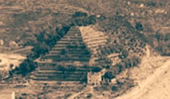 Pyramide de Nice. France.