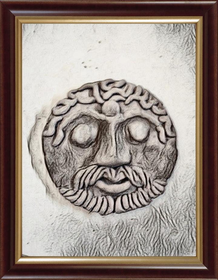 Druidic figures