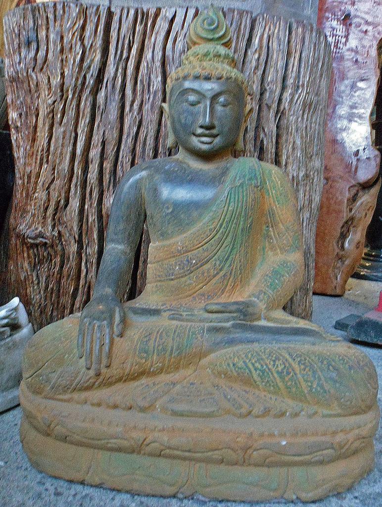 Buddha h 52 cm yin yang asiatika buddhas - Garten buddha frostsicher ...