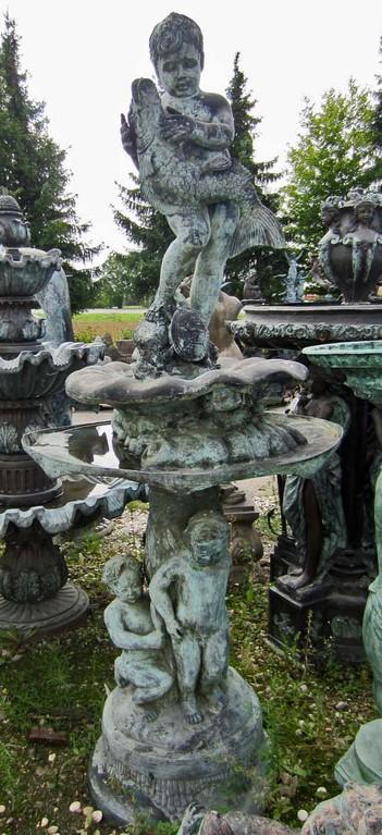 Gartenbrunnen Bronze