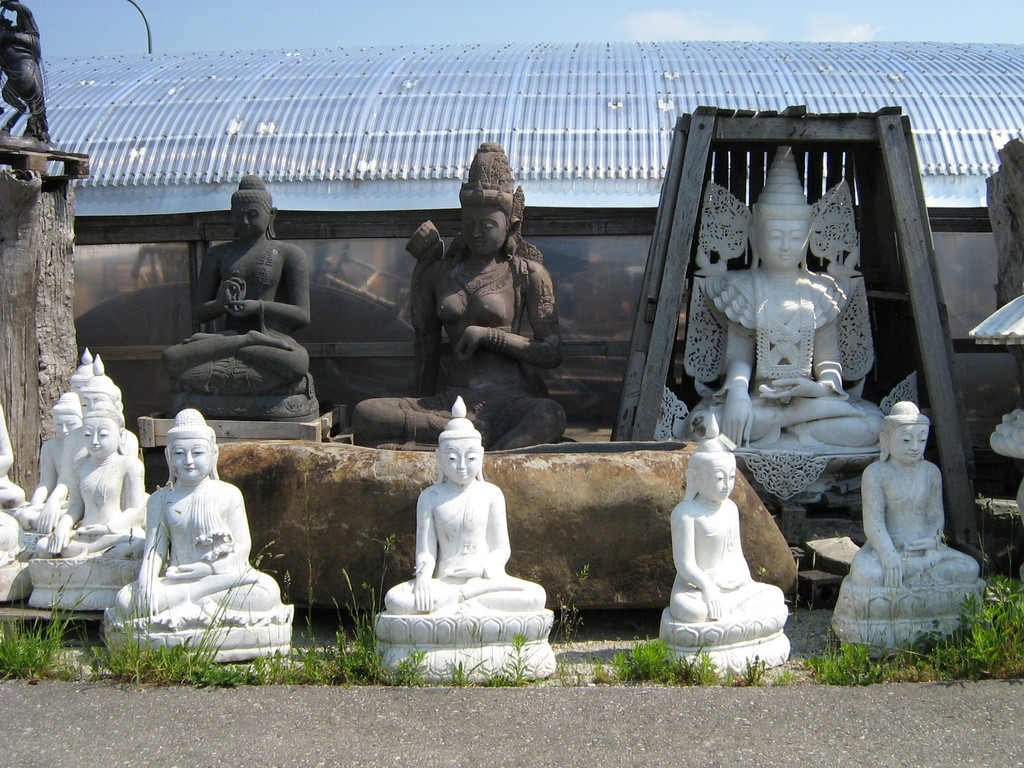 Buddhas aus Marmorstein