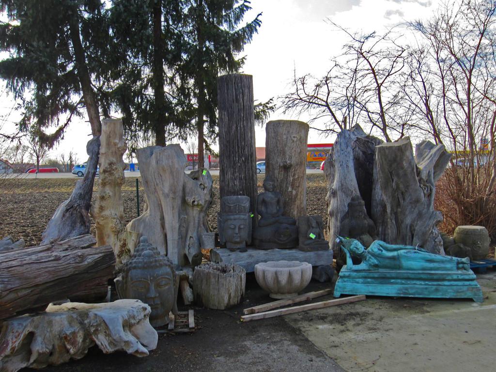 Naturholzobjekte