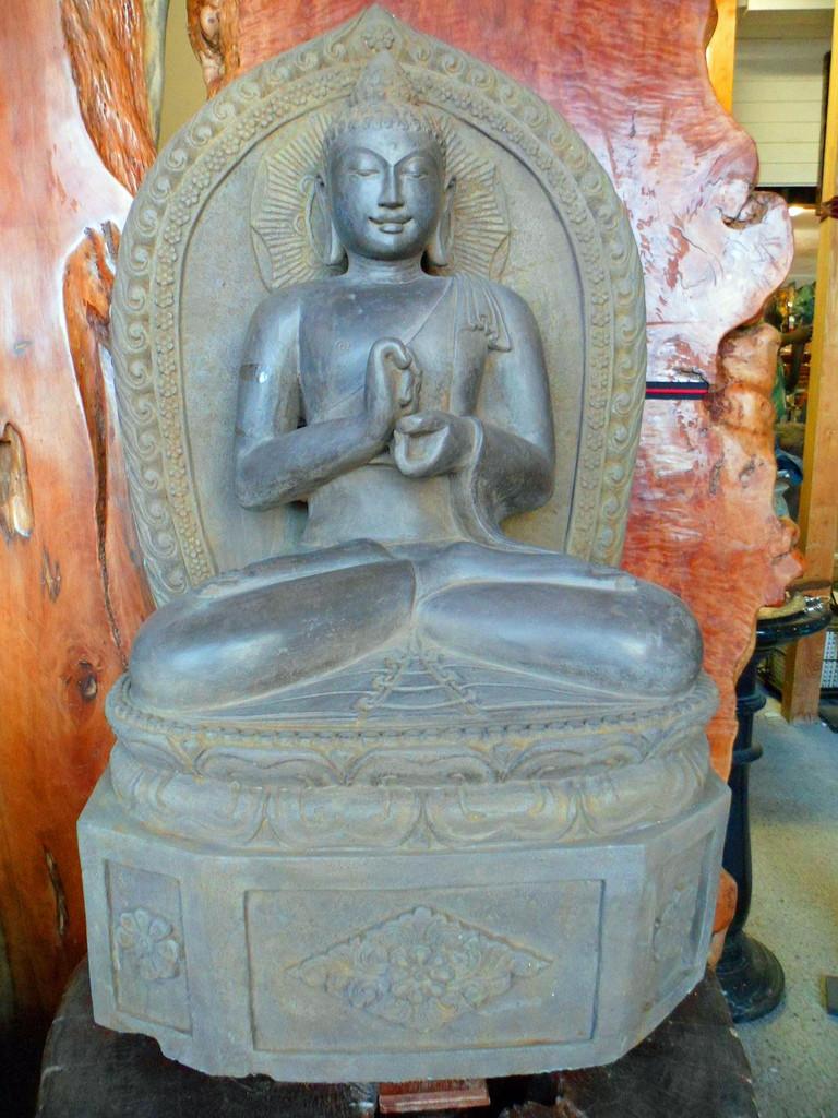 2701 Buddha Stein Skulpturen, Figur, Garten