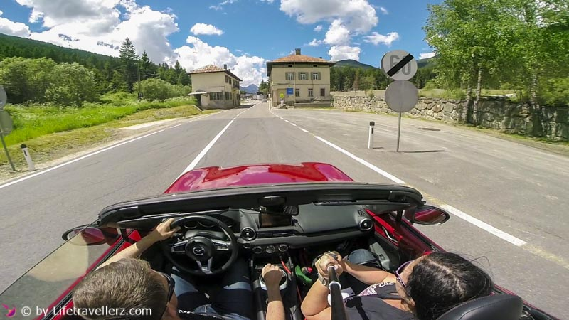 Roadtrip, Roadster, Mazda MX5, Italien, Veneto, Lifetravellerz