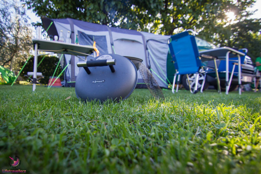 Beim Campen mit dem Campervan