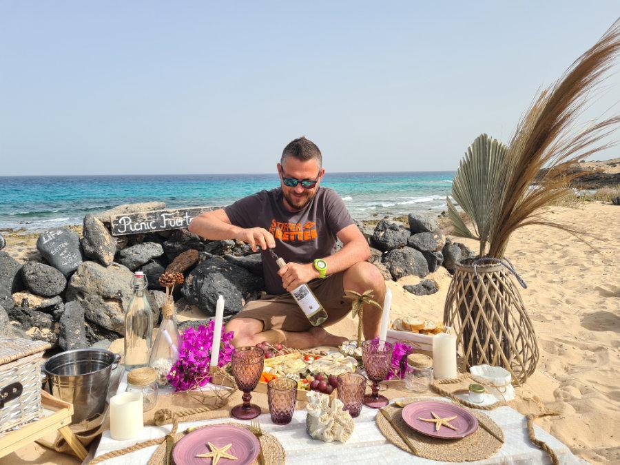 Picknick auf Fuerteventura