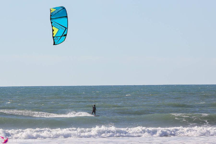 Kitesurfen in Lo Stagnone - Sizilien