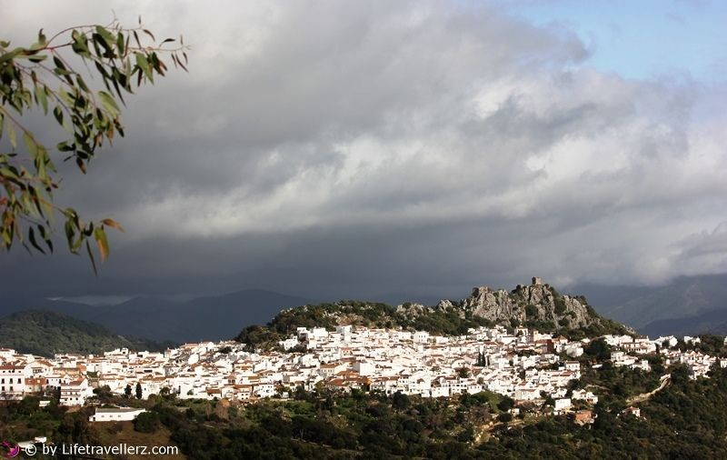 Pueblos blancos in Andalusien