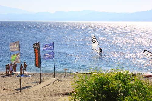 Kitesurfen Punta Pellaro, Kalabrien