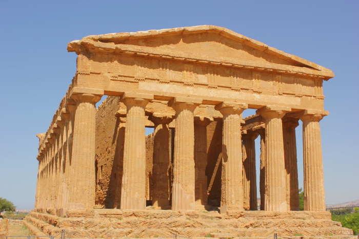 Griechischer Tempel in Italien