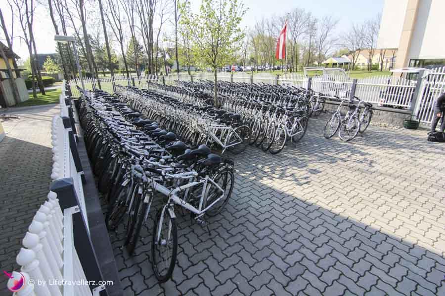 Radfahren in der VilaVita Pannonia im Burgenland