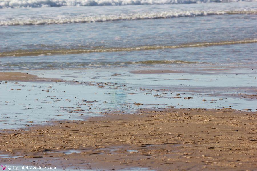 Sandstrand in Aquitanien