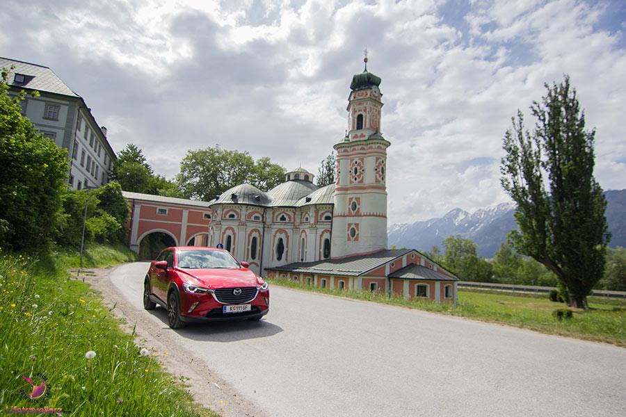 Die Karlskirche in Tirol