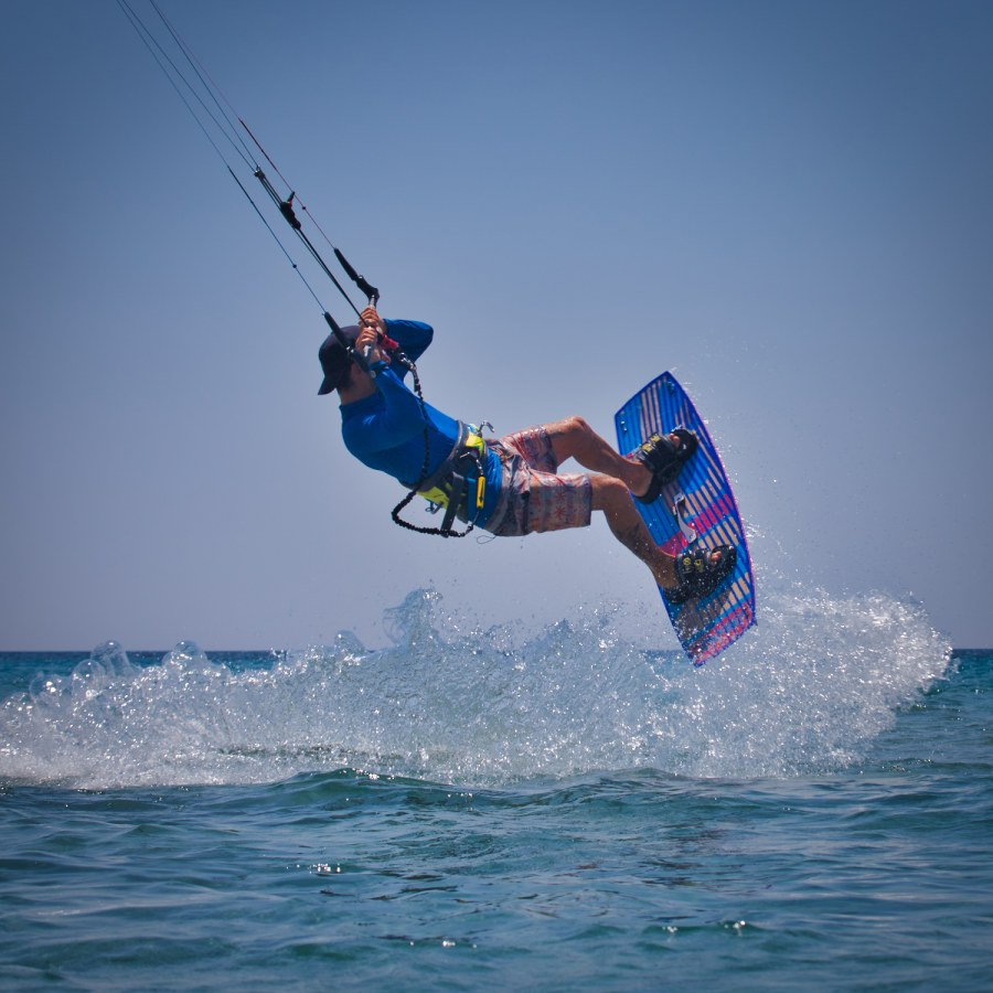 Kitesurfing Chalikounas Corfu