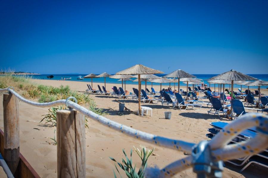 Beachclub Chalikounas Kitestrand