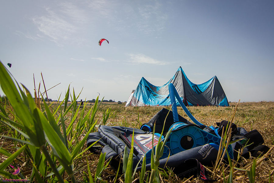 Roadtrip ans Nordkap - Kitesurf Equipment