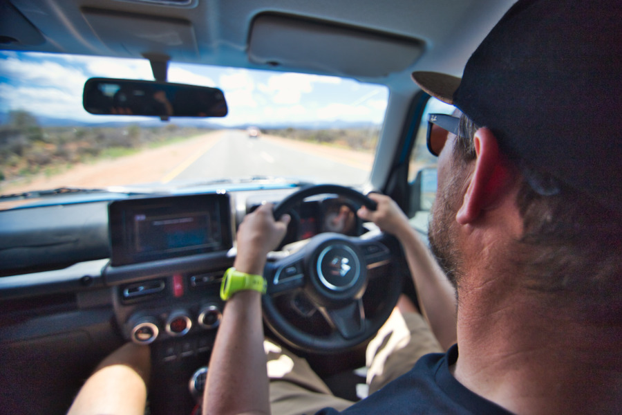 Fahrt entlang der Garden Route durch Südafrika