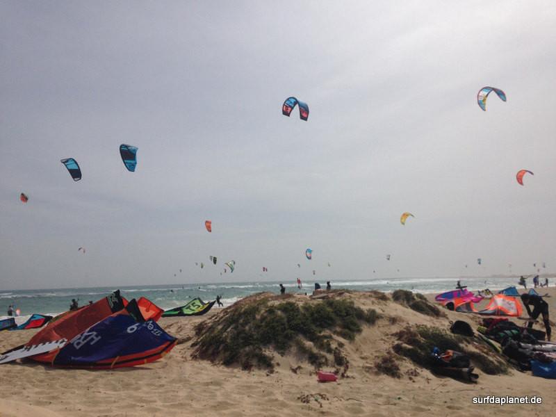 Kitesurfen Kapverden, Kitespot Sal