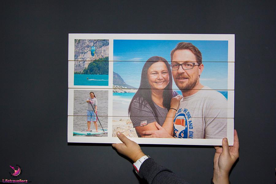 Foto auf Holz - Schönste Reisemomente 2017