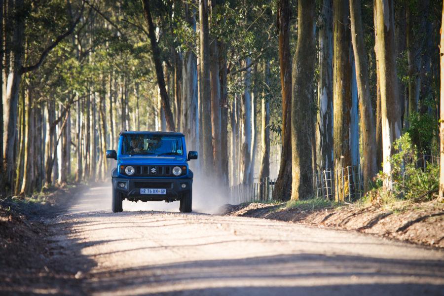 Fahrt entlang der Garden Route in Südafrika