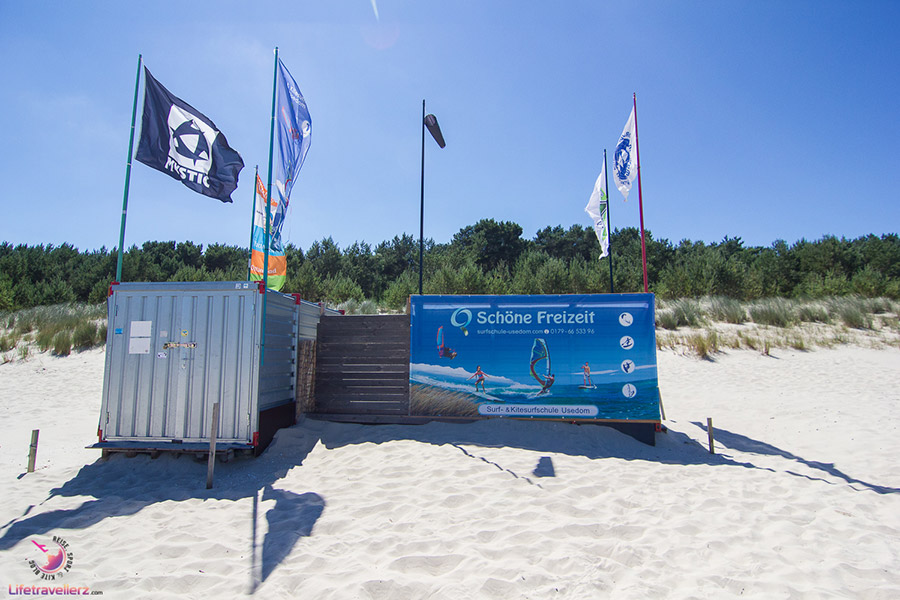 Sportstrand Usedom - Surfschule Schöne Freizeit in Karlshagen