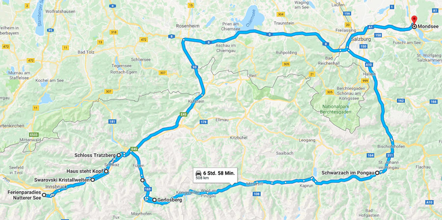 Roadtrip Tirol - Mazda Routes 2018