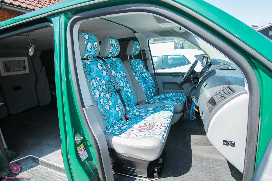 Tutorial VW T5 Einbau Drehsitzkonole Doppelsitz