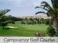 Real Club de Golf Campoamor 29 km  van Villa Cas del Lago