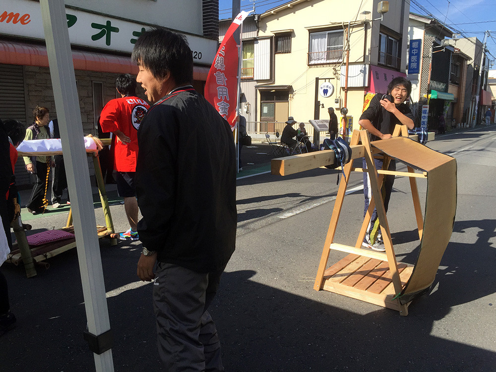 正式には日本大学理工学部建築学科 都市計画研究室所属で、越谷の研究をしている彼らが…