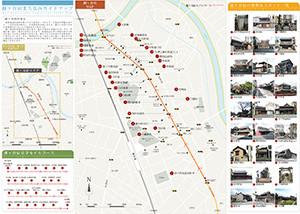 越ヶ谷宿建築MAP1