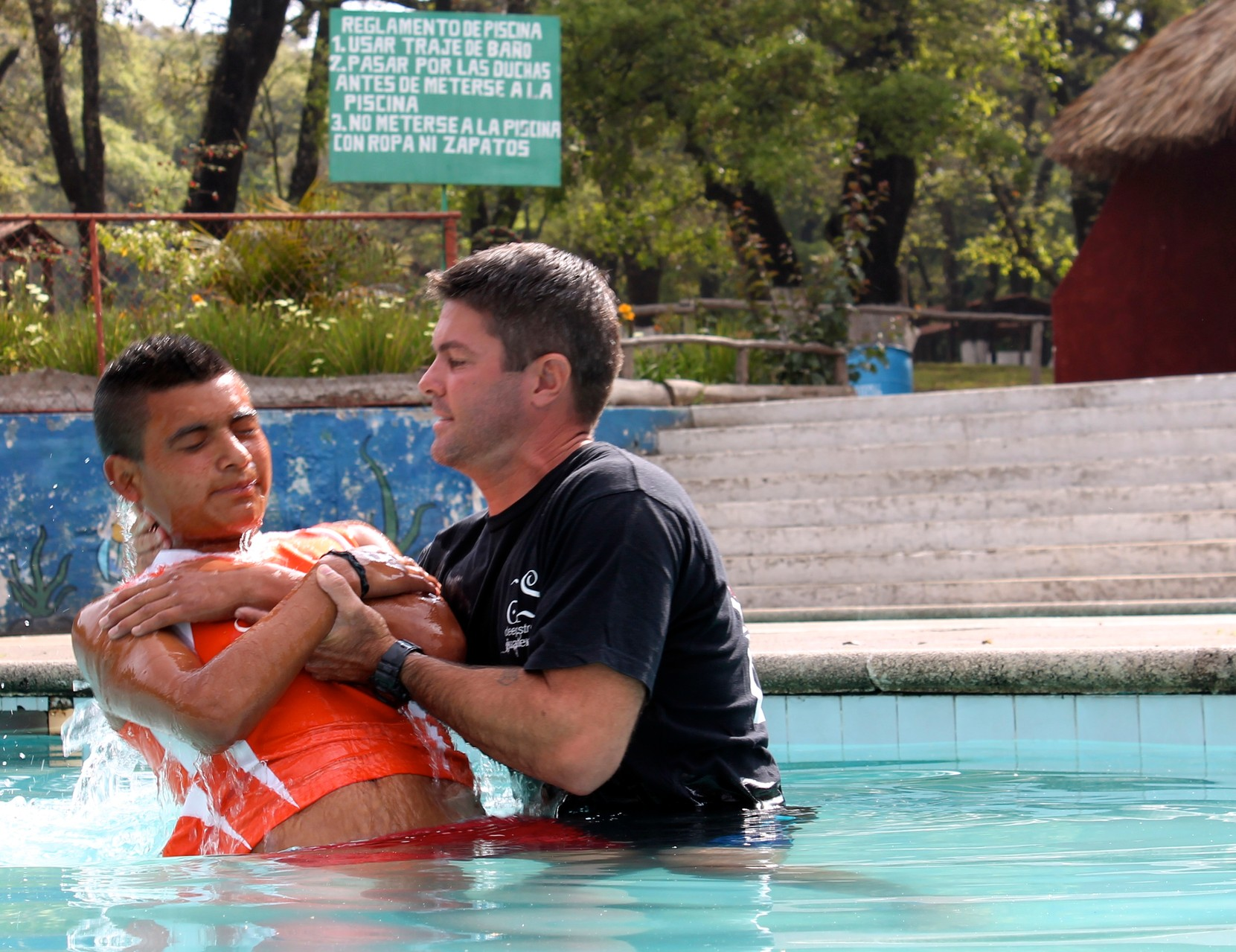 wilmer's baptism