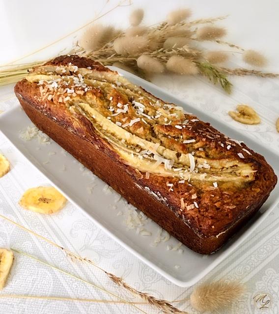 Banana Bread noix de coco #féculent