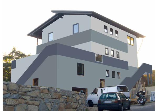 Außenfassadengestaltung ... Wartberg/Aist