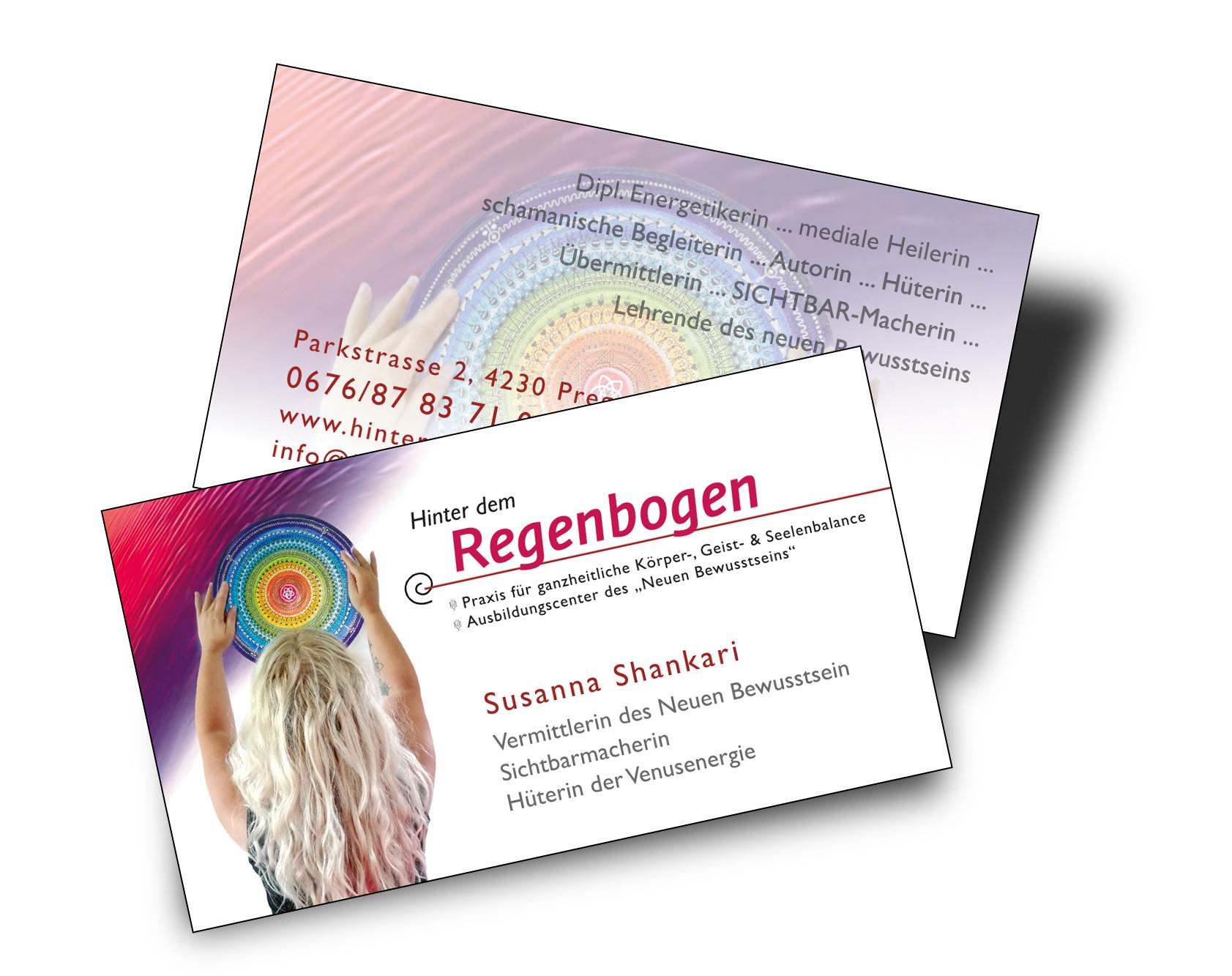 """VK ... Susanna Shankari ... Praxis """"Hinter dem Regenbogen"""" in Pregarten"""